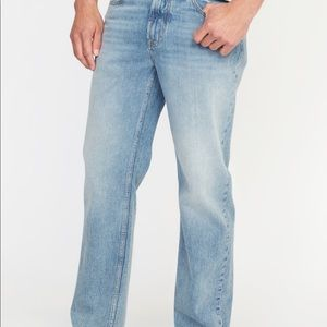 🆕 Old Navy Men's Loose Relaxed Fit Straight Jeans
